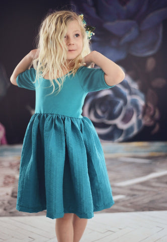 Eliza Dress  - Teal SOLD OUT