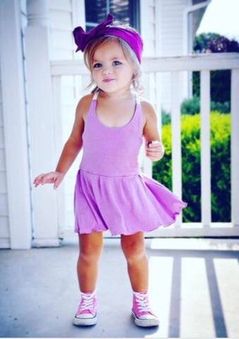 Lucy Play Dress  - Lavender