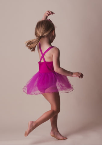 Lennon Dress - Fuchsia