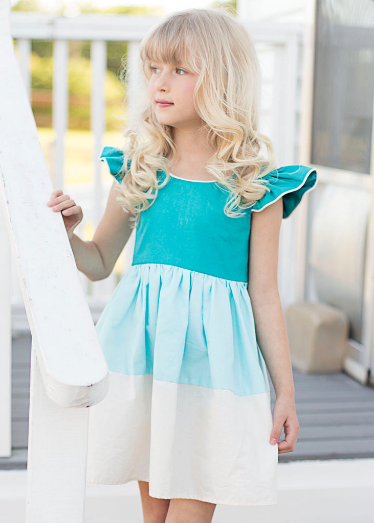 Madison Dress - Turquoise