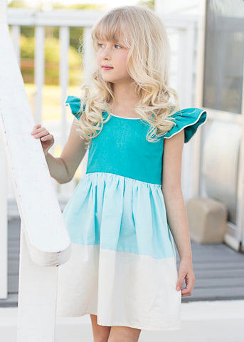 Maxwell Dress - Turquoise