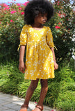 Hannah Dress - Marigold