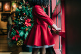 Nadine Dress - Candy Cane Red
