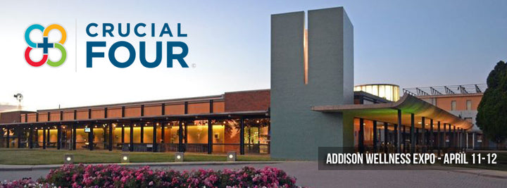Crucial FOUR to Attend the Addison Wellness Expo in April!