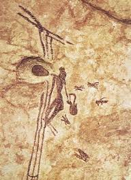 cave painting honey