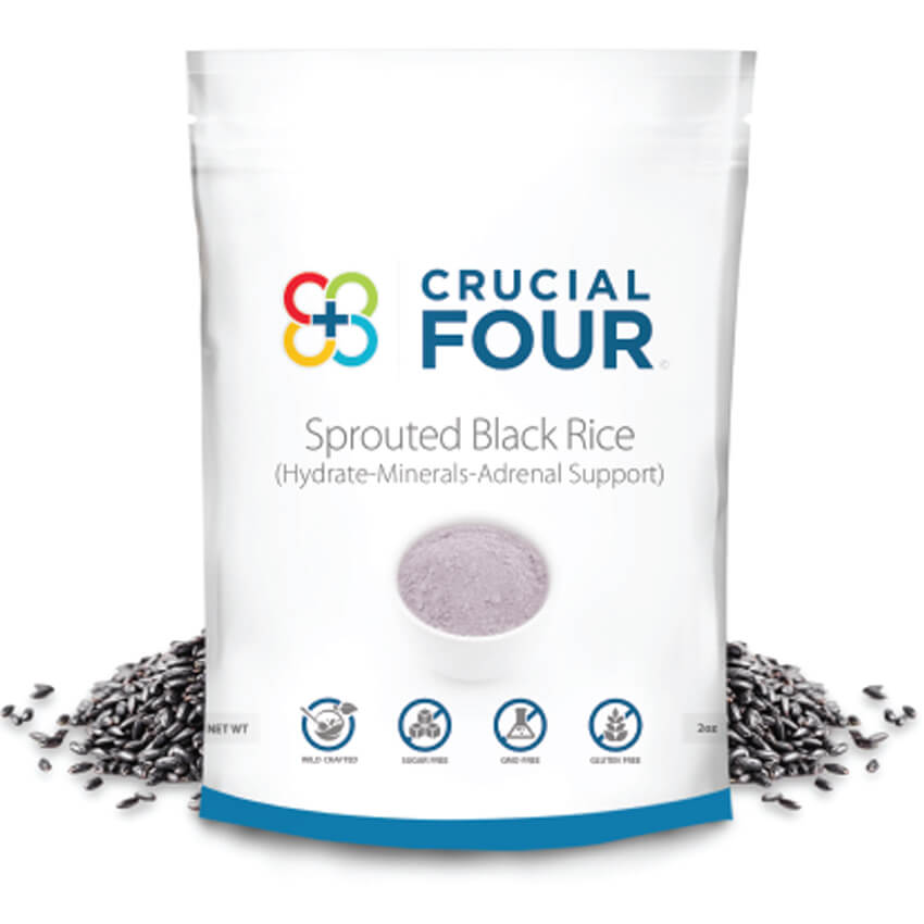 Sprouted Black Rice