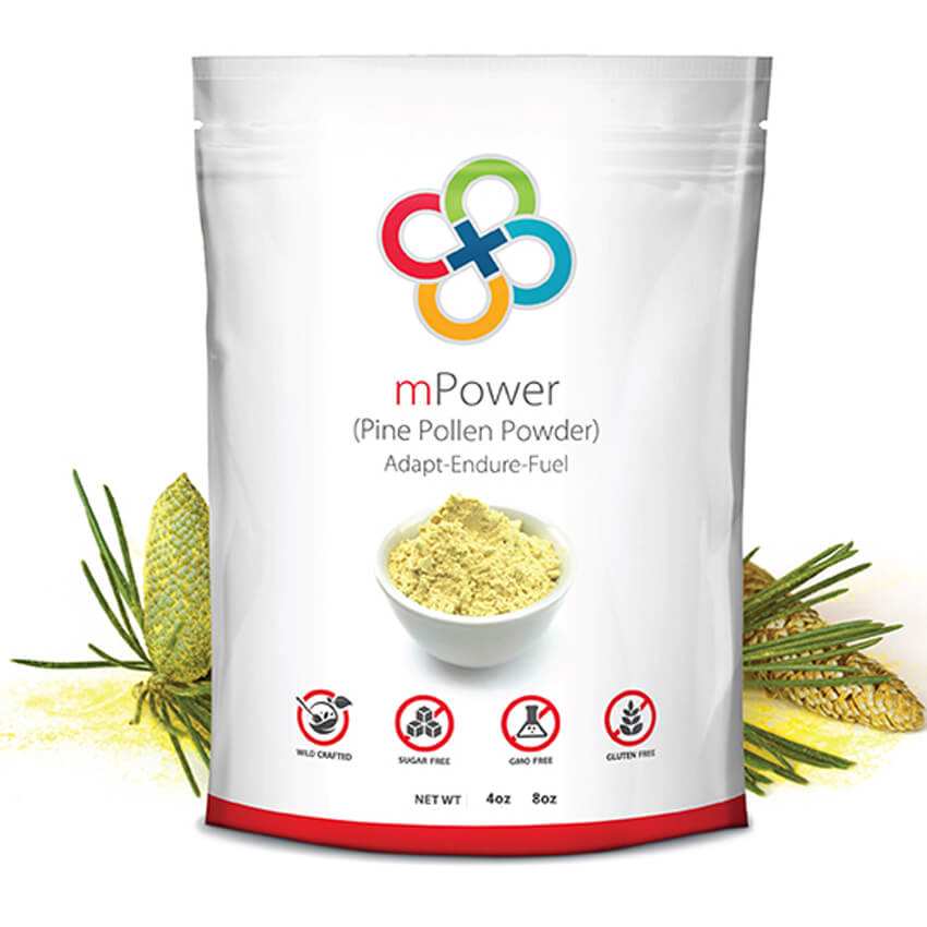 mPower | Wild Harvest Cell Cracked Pine Pollen Powder