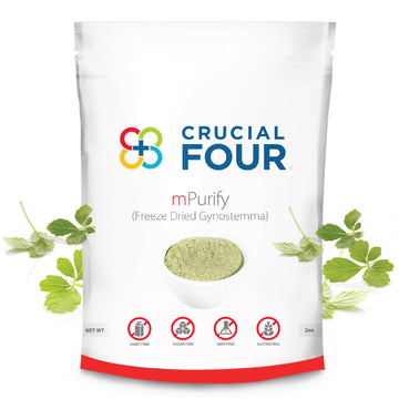 mPurify Tea | Gynostemma Tea | 2 oz | Freeze Dried