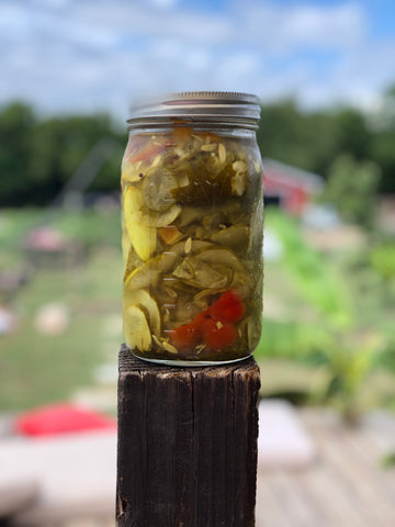 Heirloom Probiotic Pickles 32oz Jar