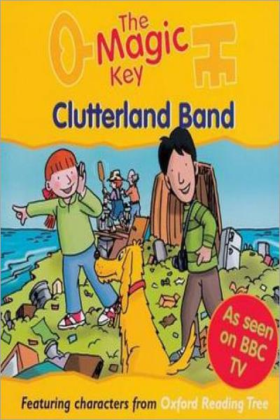 Clutterland Band (The Magic Key Story Books) - Used