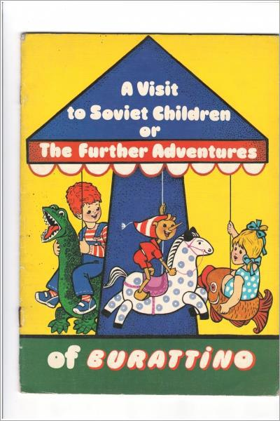 A Visit To Soviet Children Or The Further Adventures – Used