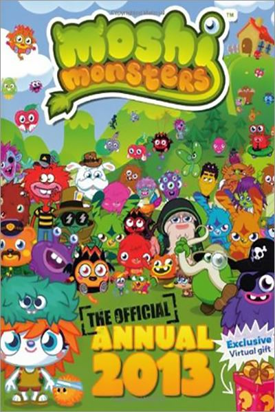Moshi Monsters Official Annual 2013 - Used