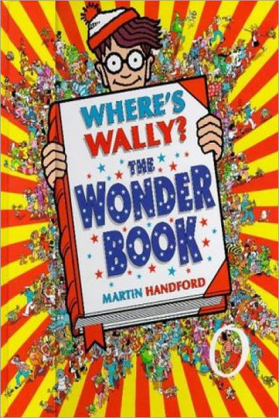 Where's Wally? Wonder Book - Used