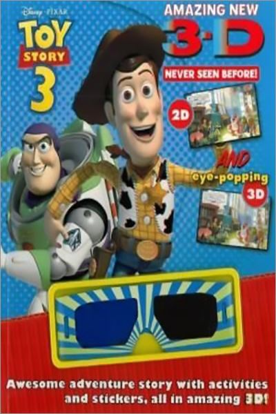 "Disney 3d Story and Activity: Disney ""Toy Story 3"" - Used"