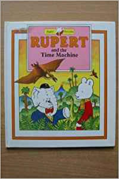 Rupert and the time machine - Used