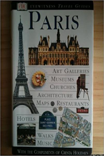 Paris (DK Eyewitness Travel) - Used (Good Condition)
