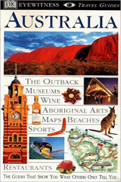 Australia (DK Travel Guide) - Used (Good Condition)