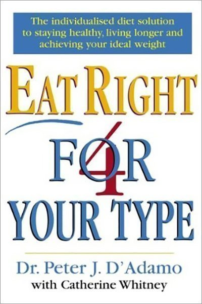 Eat Right 4 Your Type - Used