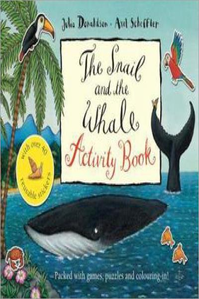 The Snail and the Whale Activity Book - Used