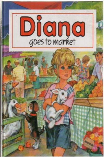 Diana Goes To Market - Used