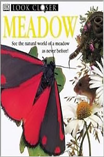 Meadow: A Close-up Look at the Natural World of a Meadow (Look closer) - Used