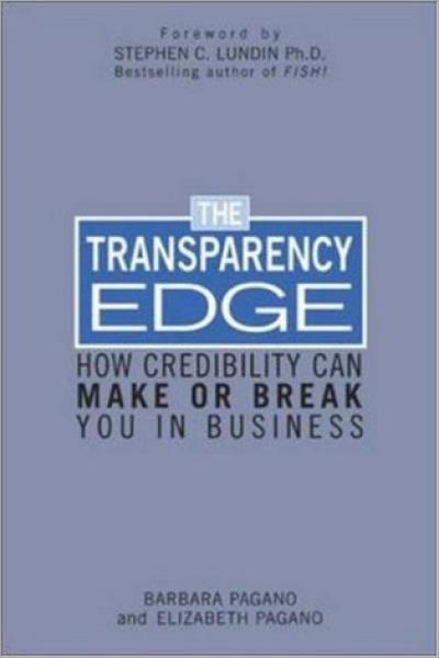 The Transparency Edge: How Credibility Can Make or Break You in Business - Used