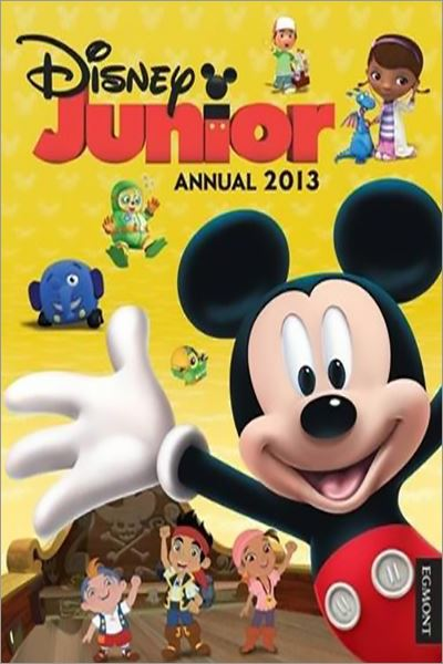 Disney Junior Annual 2014 - Used