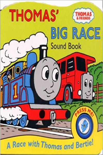 Thomas' Big Race (Thomas The Tank Engine) - Used