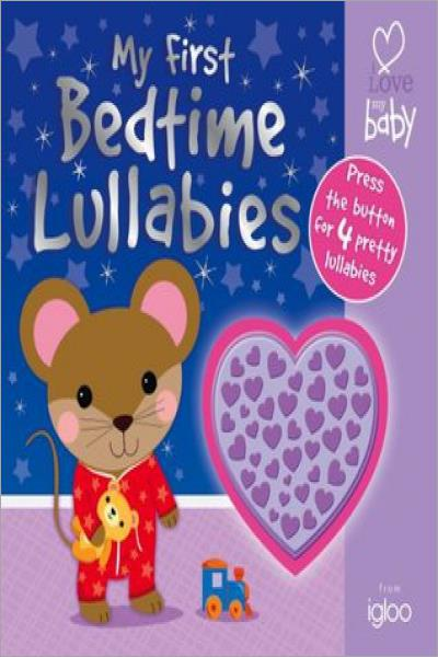 Lullaby Sounds Shaped Button for Babys (ILMB - First Sounds - Igloo Books Ltd) (Igloo Noisy Book) - Used
