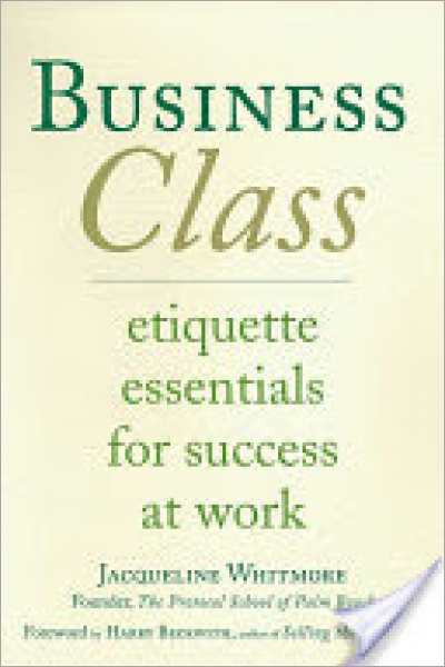 Business Class Etiquette Essentials for Success at Work - Used
