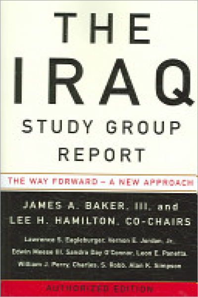 The Iraq Study Group Report - Used