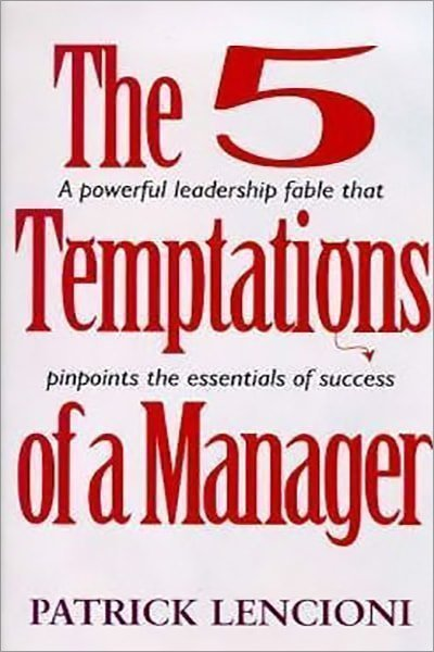 5 Temptations Of A Manager - Used