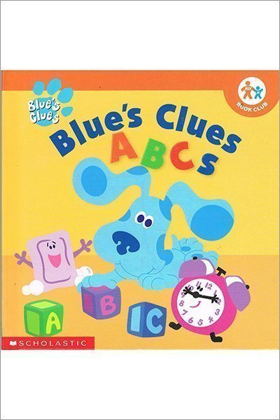 Blue's Clues ABC's (Nick Jr. Play to Learn) - Hardcover - Used