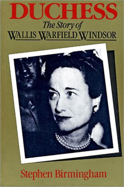 Duchess: The Story Of Wallis Warfield Windsor - Hardcover - Used