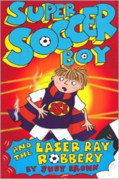 Super Soccer Boy and the Laser Ray Robbery - Used