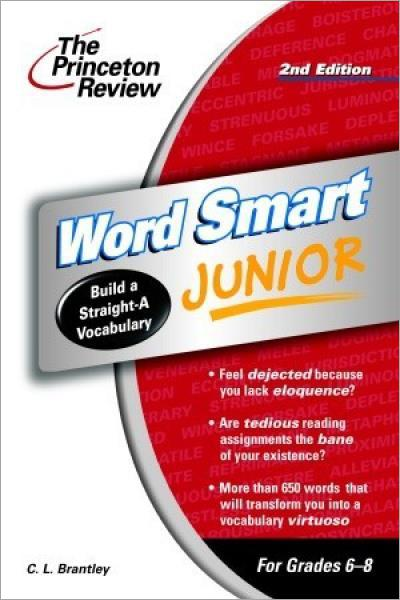 Word Smart Junior, 2nd Edition (Smart Juniors Grades 6 to 8) - Used