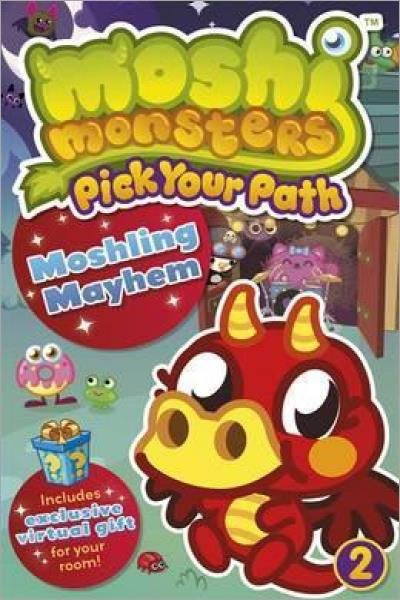 Moshling Mayhem (Moshi Monsters Pick Your Path #2) - Used