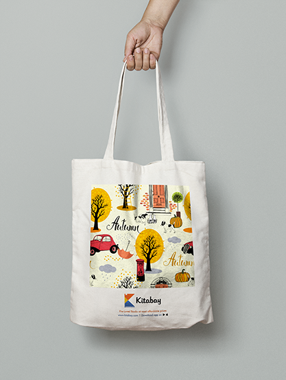 Tote Bag - Autumn Collection - Large Size