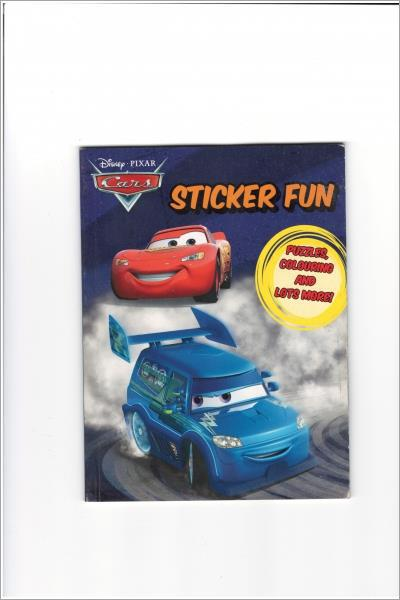 Disney Cars 200 Sticker Book Box (Disney 200 Sticker Box) - Used