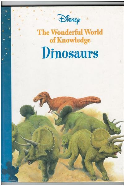 Dinosaurs (Disney Presents The Wonderful World Of Knowledge) - Used