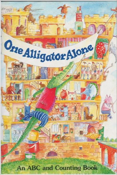 One Alligator Alone (Picture Books) - Used