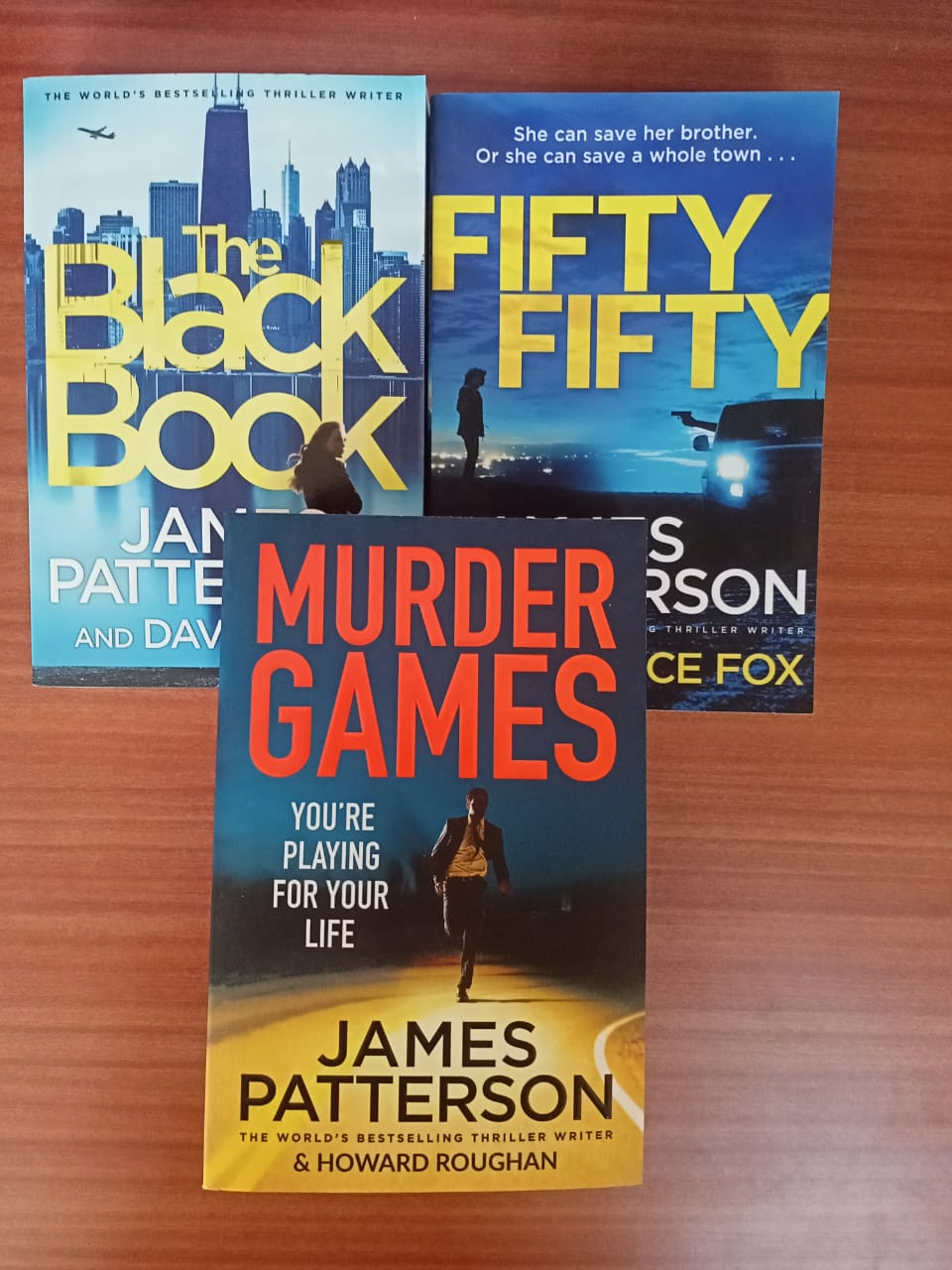 James Patterson Set of 3 Books