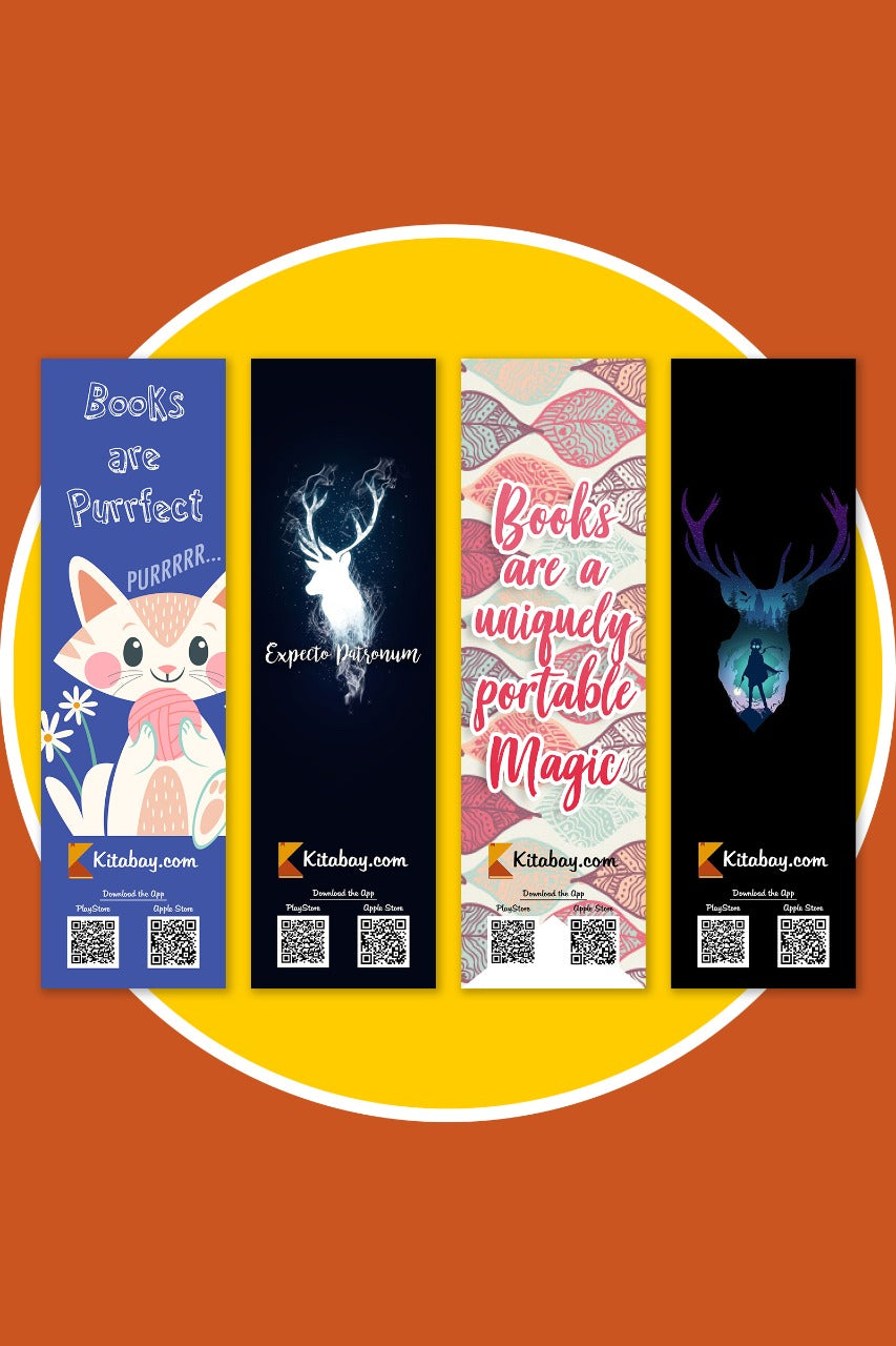 Bookmarks (Set of 4) - Premium Quality