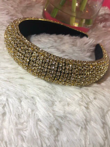 Golden Sparkle Crownband