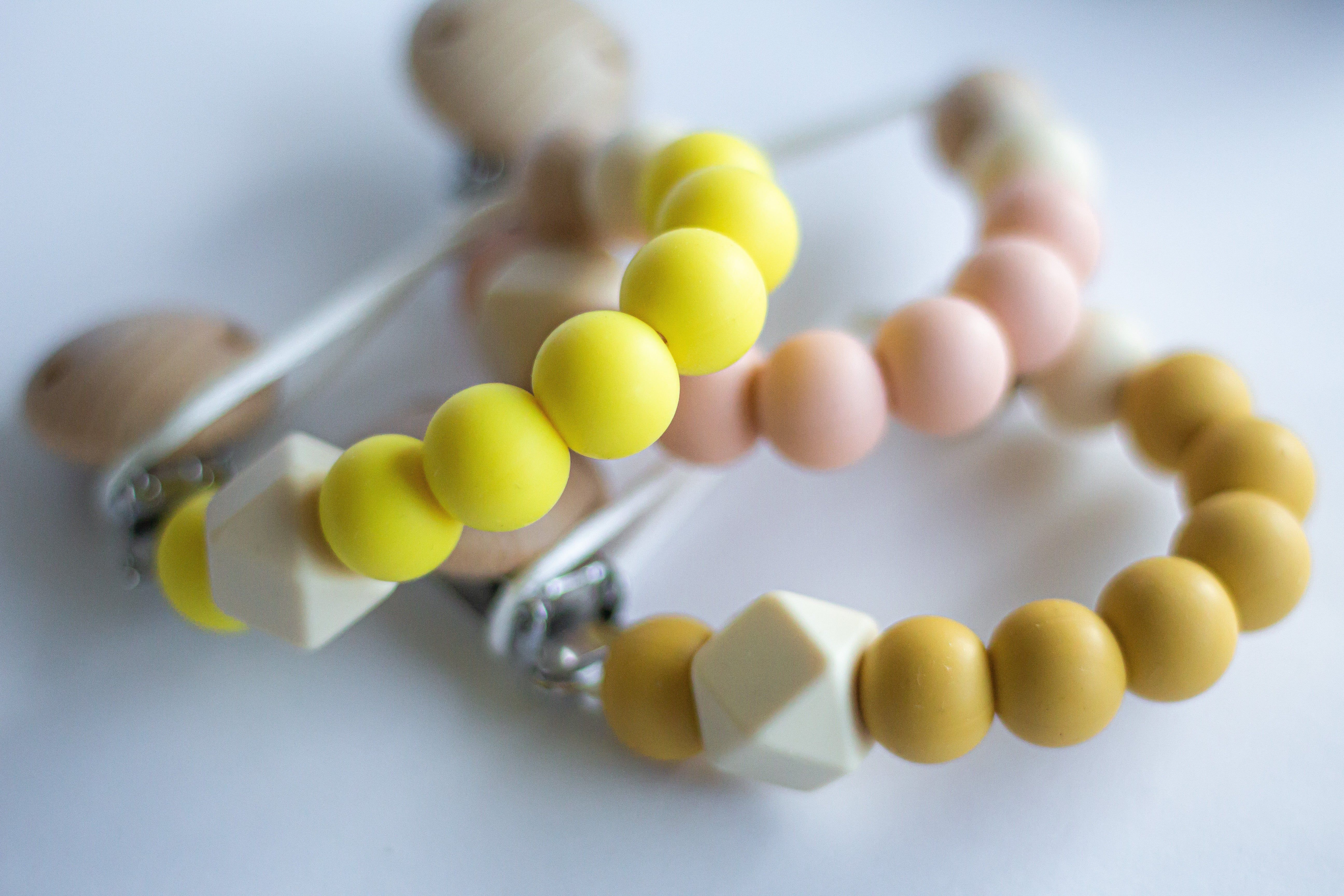 Peach Dummy Chain | Willow May