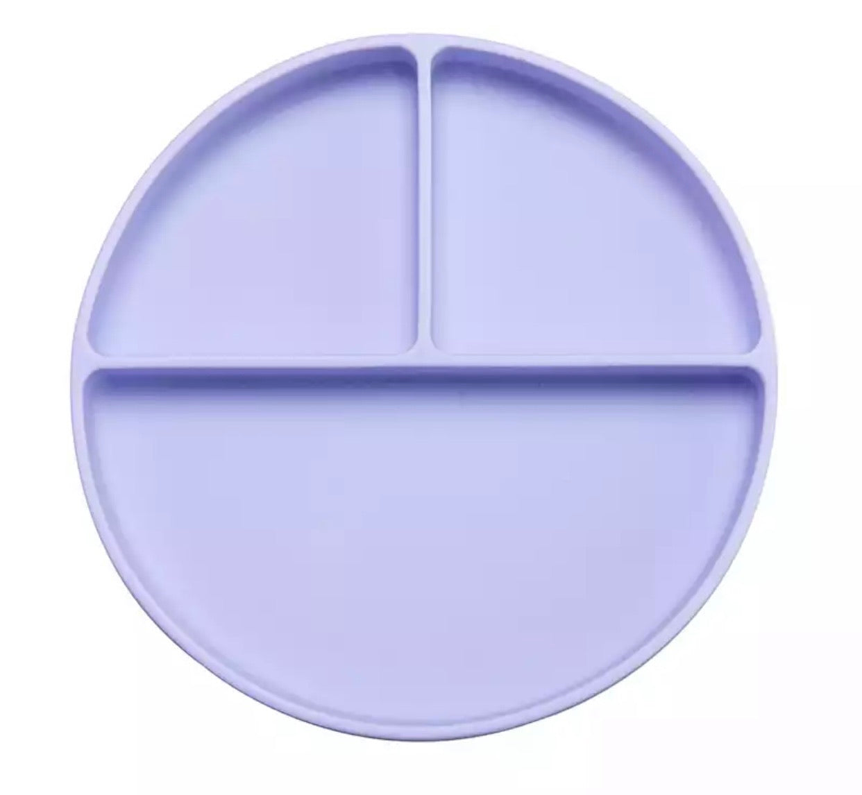 Silicone Suction Divider Plate | Lavender