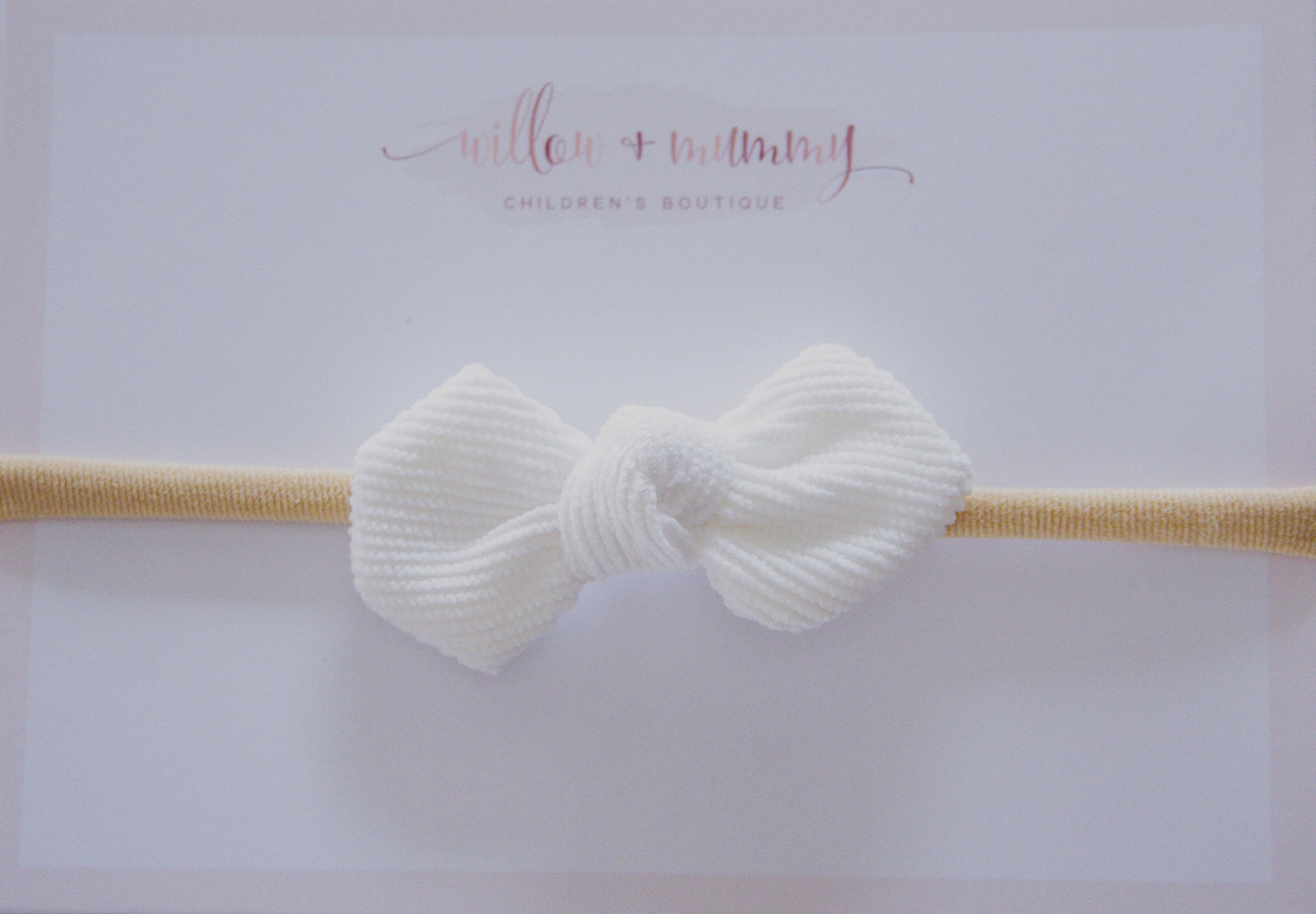 Willow | Petite Corduroy Bow