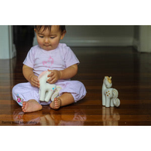 Cotton Candy Unicorn Teether - Tikiri
