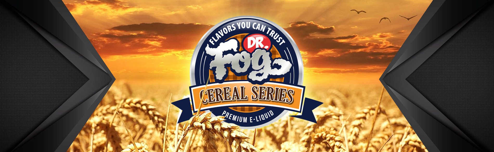 Dr. Fog Cereal Series 100ml Shortfill - ECIGONE