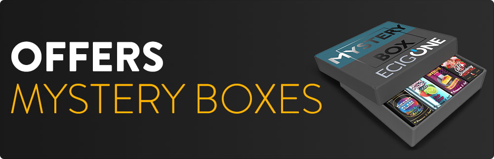 Mystery Boxes - Ecigone Vape Shop United Kingdom UK Free Shipping Fast Delivery Deals Bundle Deals Lowest Price Hardware E-Liquids Mods Tanks SubOhm Next Day Delivery Vaping Vape Kits Nic Salts Nicotine Pod System Accessories Weekly Deals Special Deal